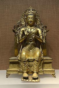 明代藏传弥勒菩萨像