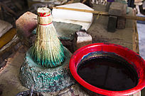 木板年画 踏刷和色彩