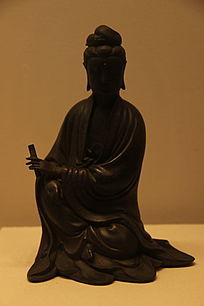 铜观音菩萨坐像