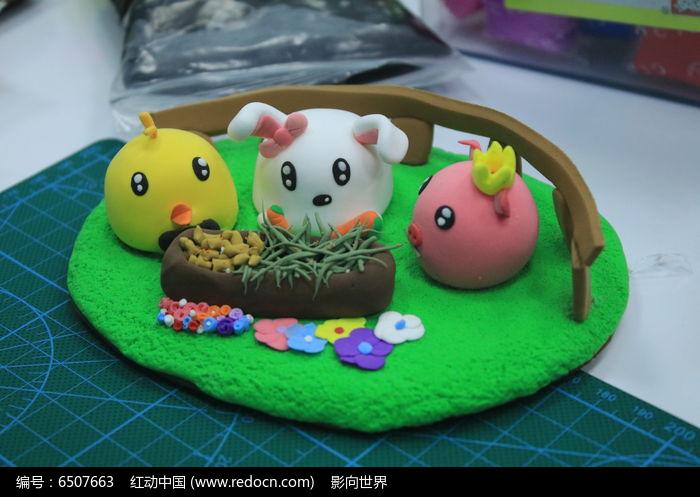 软陶作品可爱的小动物图片