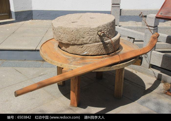原创摄影图 艺术文化 传统工艺 石磨