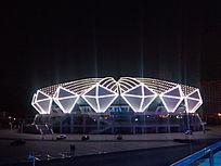 体育馆夜景