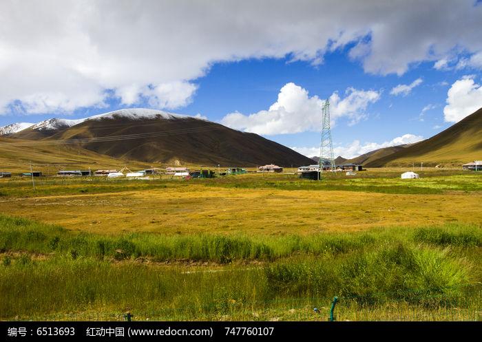 高原输电塔图片,高清大图_山峰山脉素材