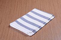 蓝白条纹布