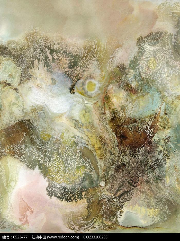 水墨电分现代风格壁画抽象画图片图片