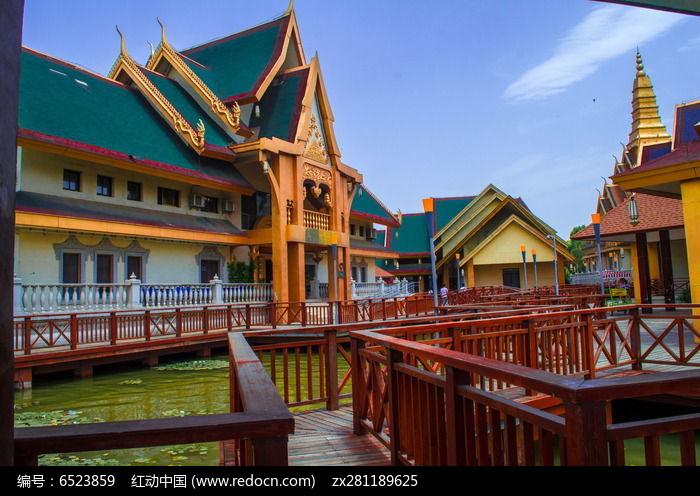 欧洲彩色房屋图片图片