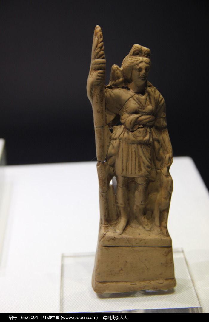 月亮女神狄安娜小型雕像图片