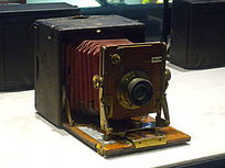 古董款箱式相机