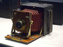 古董箱式相机