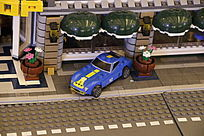 乐高小玩具车