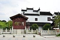 南昌八大山人中式古建筑大门