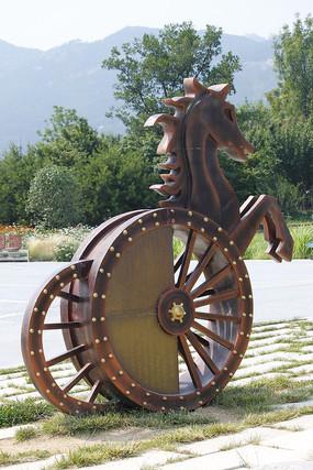 内蒙古马雕