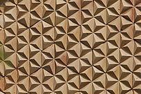 三角格子形图案背景