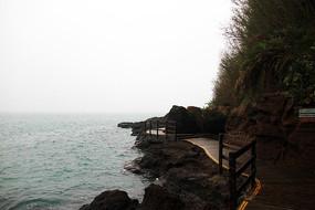 涠洲岛岛礁栈道