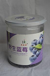 罐装野生蓝莓果干零食