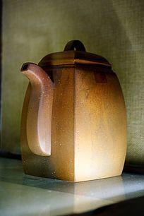 泥陶瓷茶壶