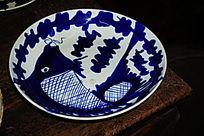 青花陶瓷盘