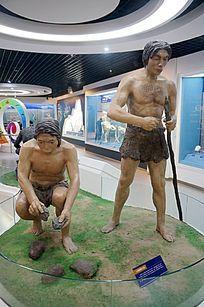 远古人类制作工具