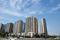 郑东新区的高层楼群