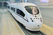 动车和谐号火车模型