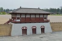 古代硬建筑模型
