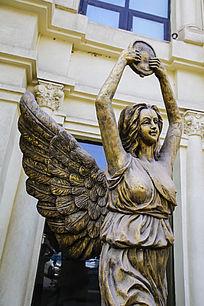 女神半身雕像