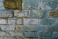 青石砖墙壁