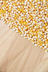 玉米粒特写