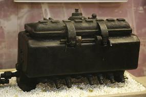 蒸汽机车七孔油压机