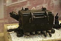 蒸汽机车五孔油压机