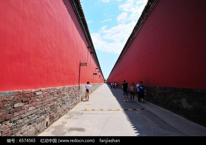 故宫高墙图片
