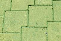 绿色方形背景