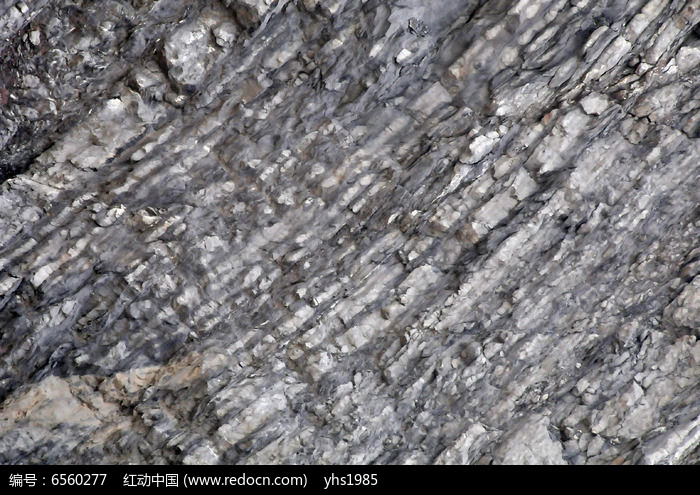 石灰石矿的纹理