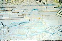 埃及金字塔石雕