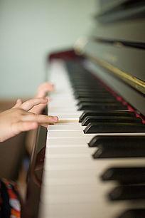 弹钢琴的小手