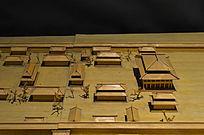 古代房屋建筑模型