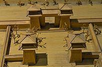 古代建筑模型