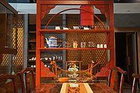 古典茶楼一角