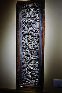古典屏风木雕