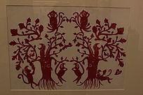 猴子的大桃树