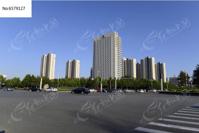 绿化带楼房住宅小区高清图片下载 编号6579127 红动网