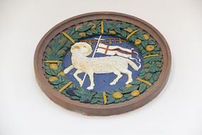 欧式雕花小羊