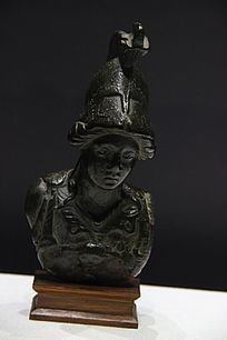 智慧女神密涅瓦小型雕像