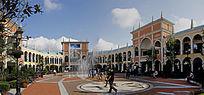 弗罗伦萨休闲购物广场全景图