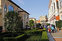 购物花园小镇