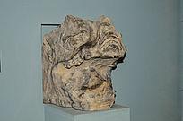 古代兽头石