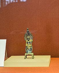 鎏金文龙造佛像