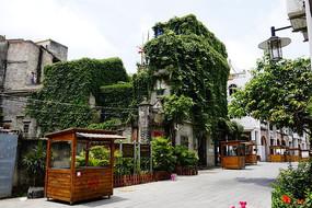 岭南老建筑图片
