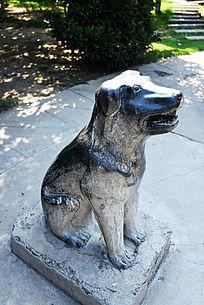 石雕生肖狗