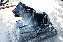 石雕生肖牛